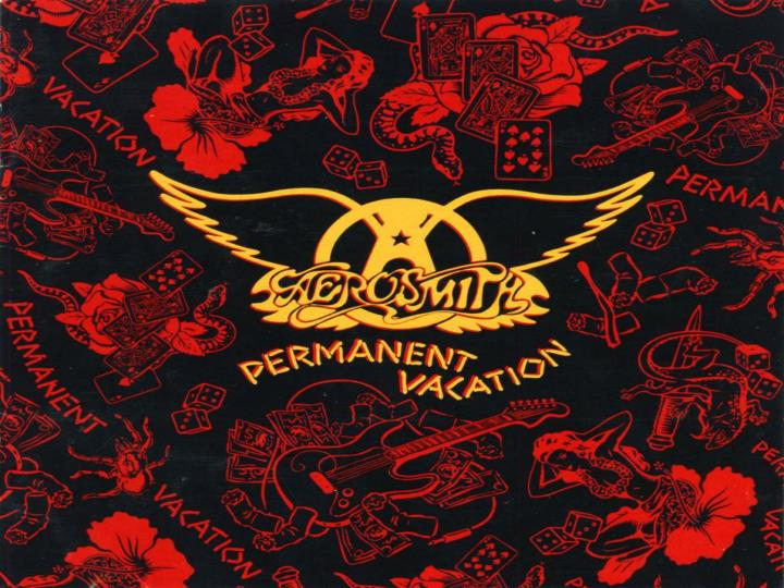 """RELEASED ON SEPTEMBER 5, 1987, """"PERMANENT VACATION"""" BECAME AN INSTANT HIT AT #11 AND FEATURED TOP 10 SINGLES SUCH AS """"DUDE (LOOKS LIKE A LADY)"""", """"RAG DOLL"""", AND """"ANGEL""""."""