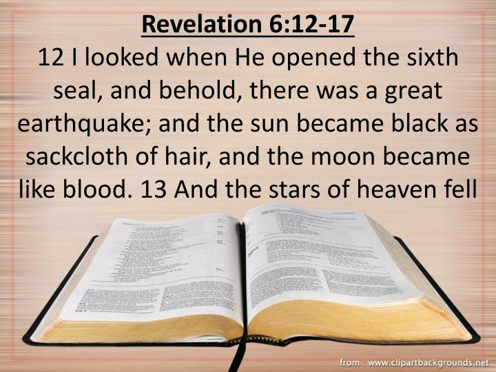 Revelation 6:12-17