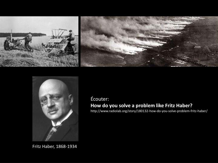 an overview of the haber process and a biography of fritz haber Fritz haber: great minds, the father of poison gas - fritz haber i who did what in ww1, joe rogan on fritz haber, fritz haber - sauver fritz haber was a german chemist who received the nobel prize in chemistry in 1918 for his invention of the haber-bosch process, a method used in.