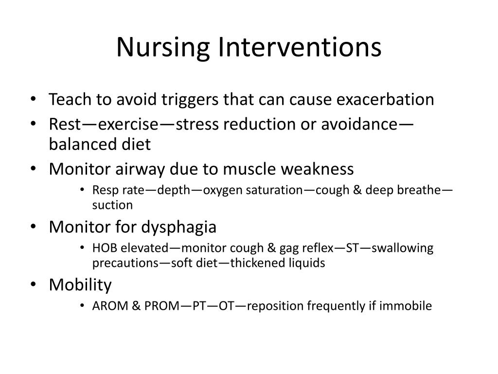 PPT - Nursing Care of Patients with Peripheral Nervous ...