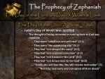 the prophecy of zephaniah10