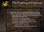 the prophecy of zephaniah13