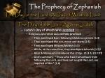 the prophecy of zephaniah7