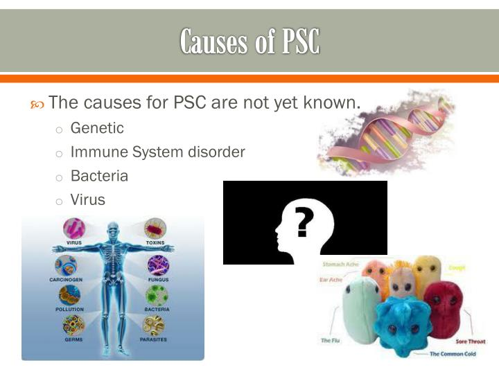 Causes of PSC