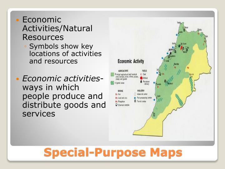 Economic Activities/Natural Resources