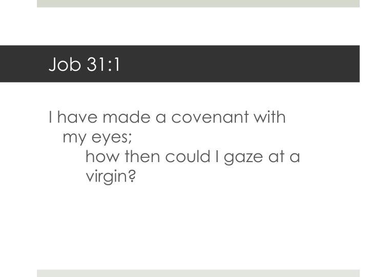 Job 31:1