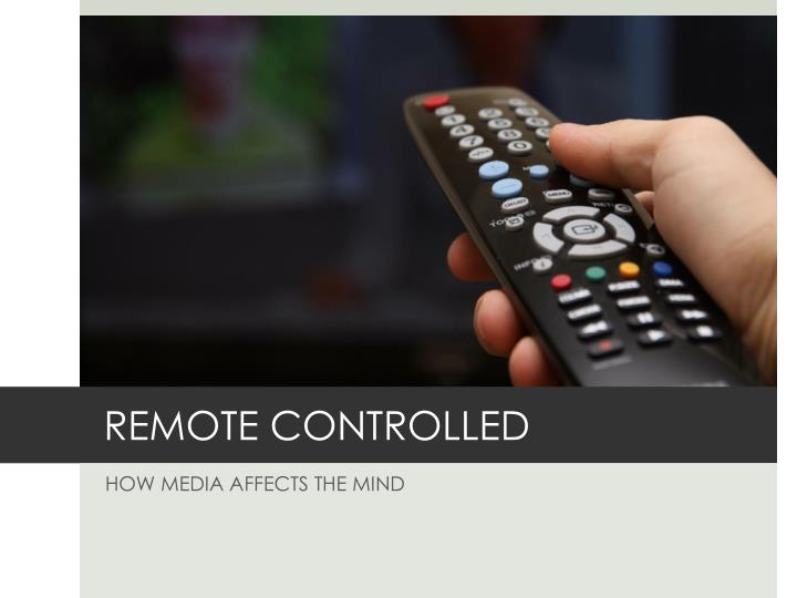 REMOTE CONTROLLED