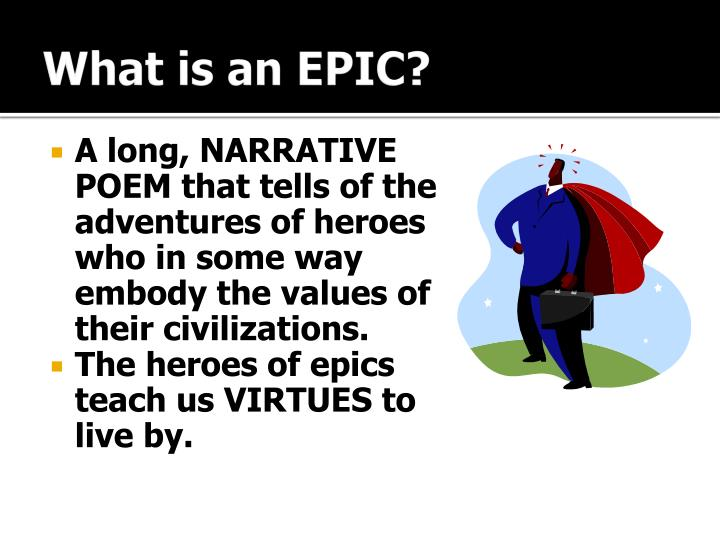 What is an epic