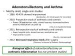 adenotonsillectomy and asthma1