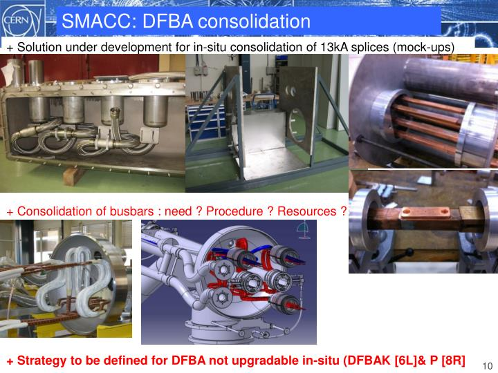 SMACC: DFBA consolidation