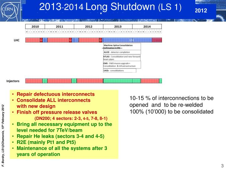 2010 2012 lhc operation at 3 5 tev and 4 tev in 2012