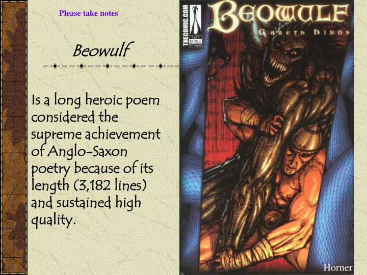 can beowulf be considered a hero Epic heroes possess qualities that mere mortals lack bravery beyond compare, superhuman intelligence, strength or skills and a driving desire to find understanding the significance of beowulf's acts requires an understanding of the key figures in the epic poem a hero of the geats in sweden.