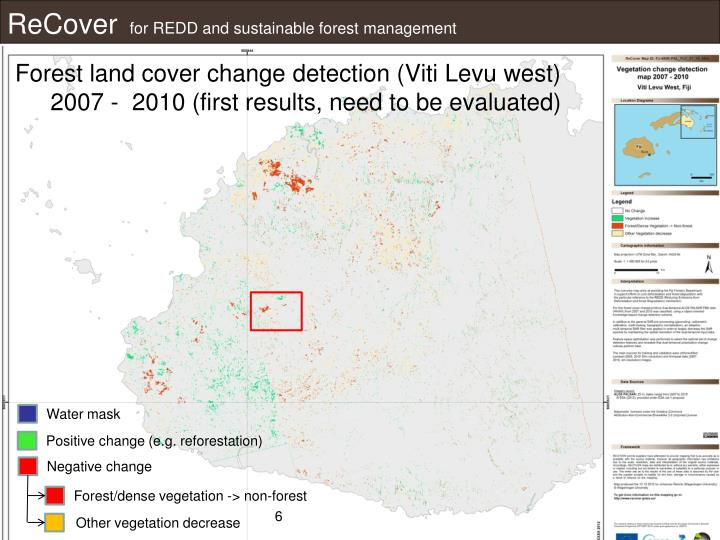 Forest land cover change detection (