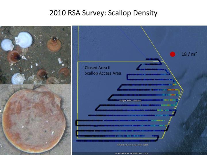 2010 RSA Survey: Scallop Density