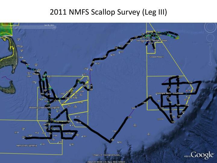 2011 NMFS Scallop Survey (Leg III)