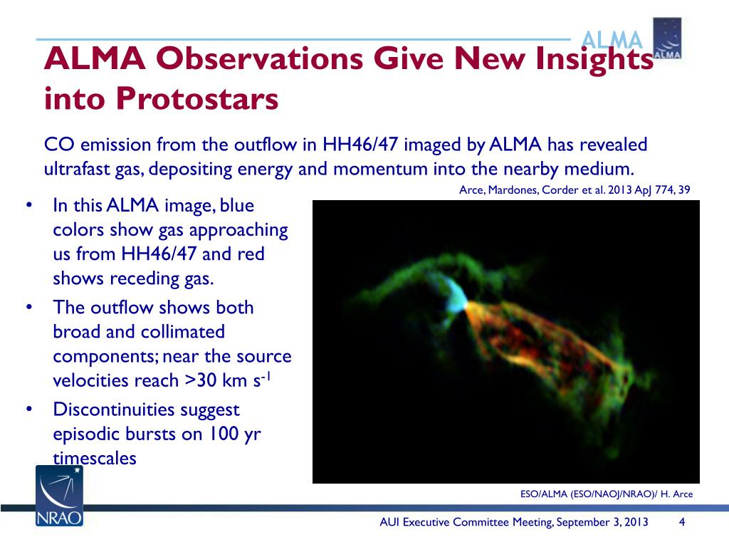 PPT - Imaging a galaxy-scale molecular outflow PowerPoint