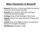 main characters in beowulf
