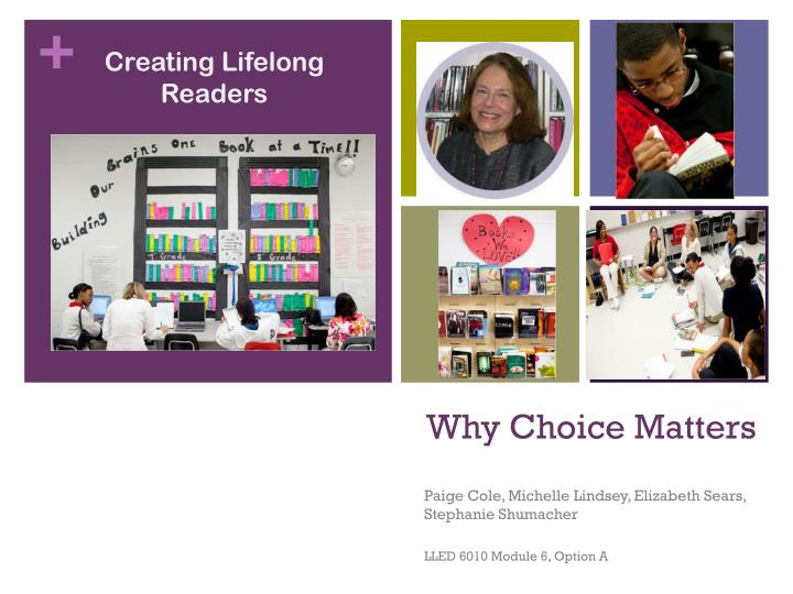 why choice matters n.