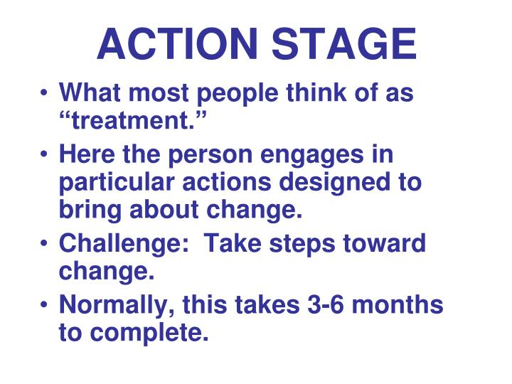 ACTION STAGE