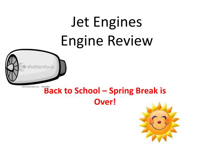 jet engines engine review
