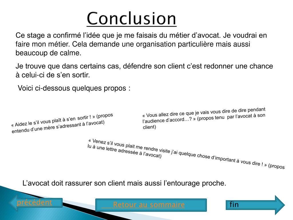 Ppt Rapport De Stage En Cabinet D Avocat Powerpoint