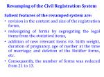 revamping of the civil registration system1
