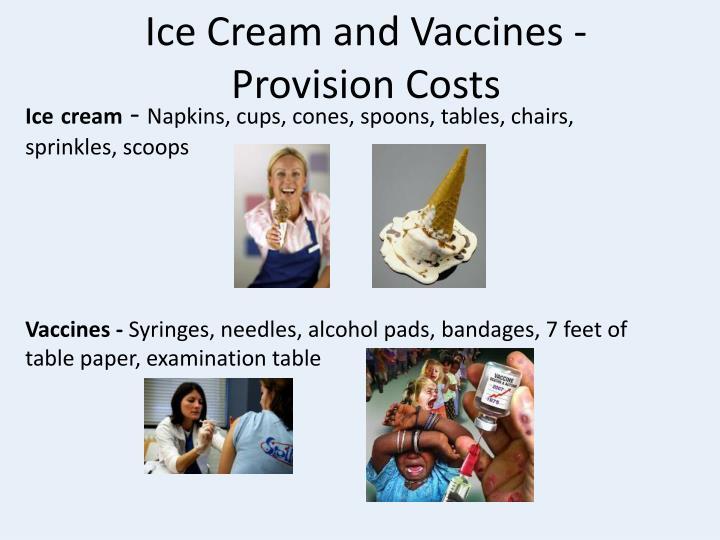 Ice Cream and Vaccines -