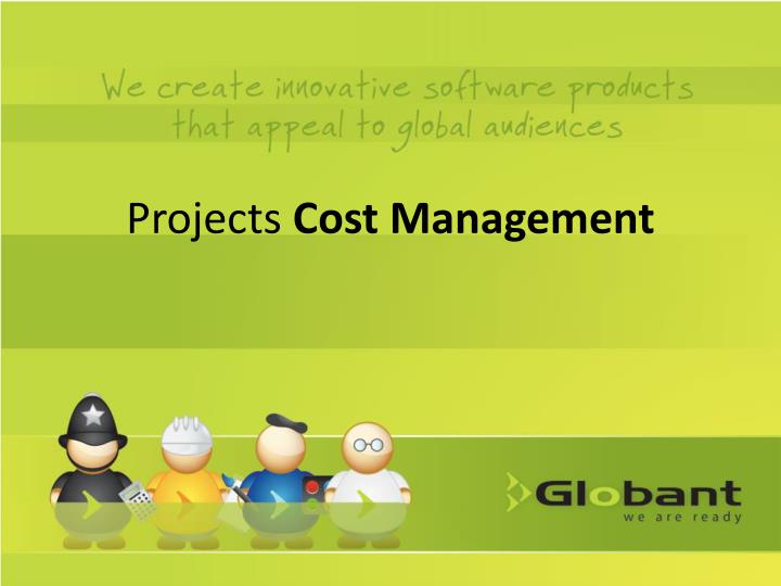 projects cost management n.
