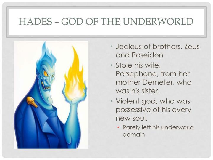Hades – God of the Underworld