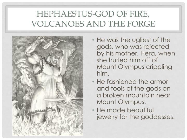 Hephaestus-God of Fire,