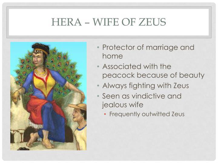 Hera – Wife of Zeus