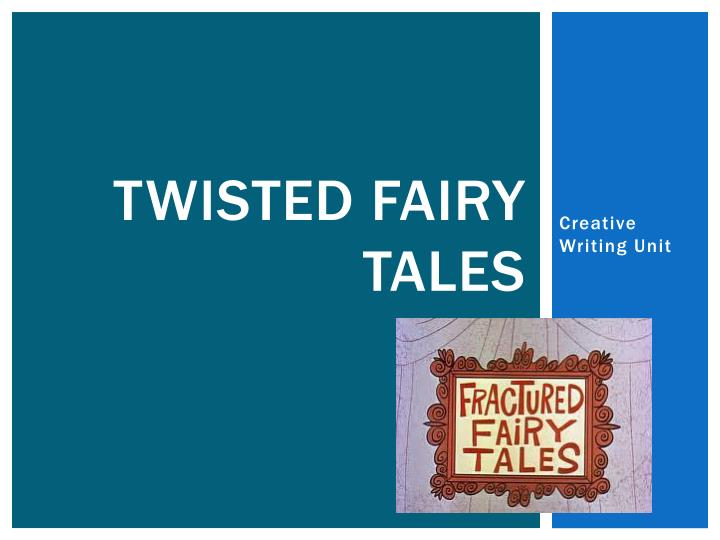 twisted fairy tales n.