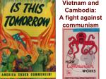 vietnam and cambodia a fight against communism