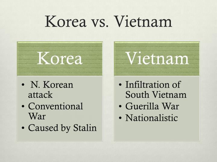 Korea vs vietnam