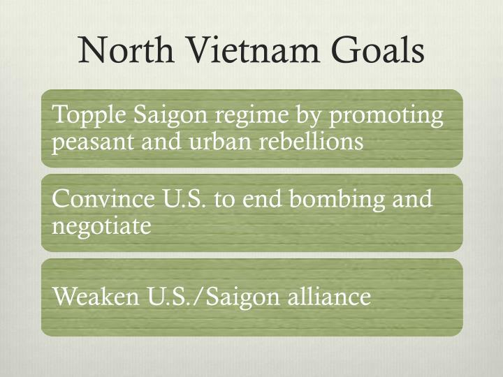 North Vietnam Goals