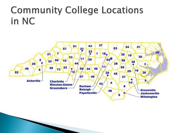 Community College Locations
