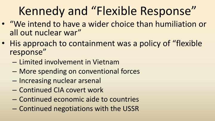 """Kennedy and """"Flexible Response"""""""