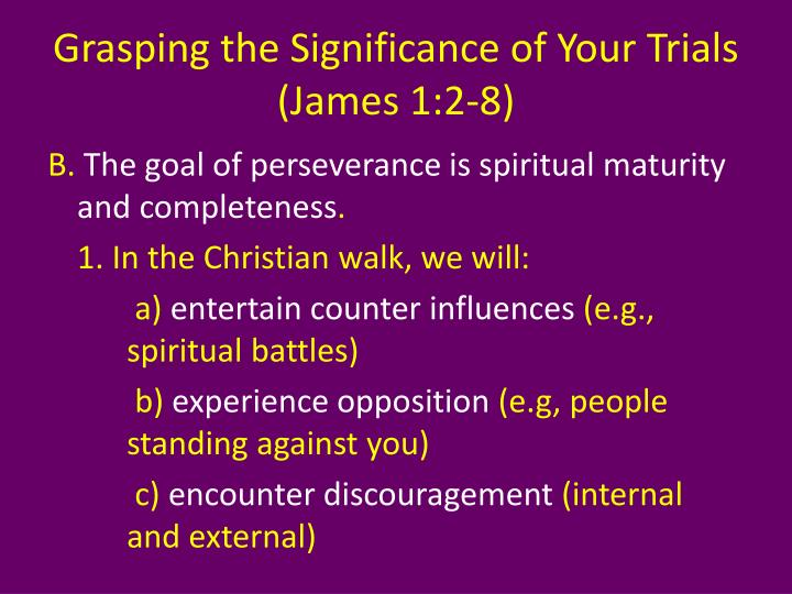 Grasping the Significance of Your Trials