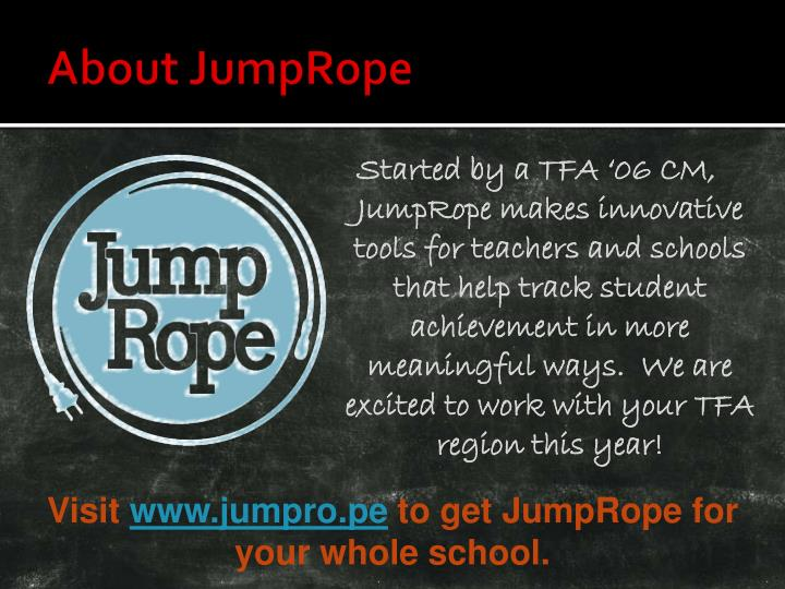 About JumpRope
