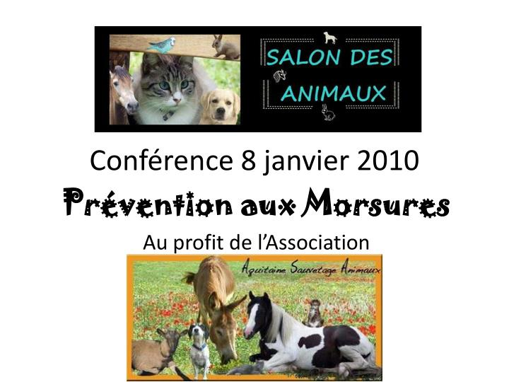 conf rence 8 janvier 2010 n.