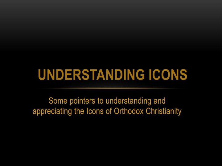 PPT - Understanding Icons PowerPoint Presentation, free