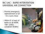 ric uac rapid intervention universal air connection1