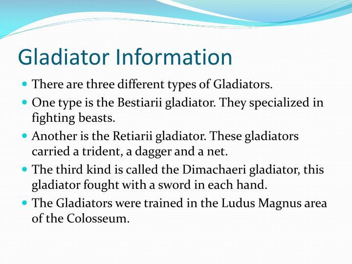 how were gladiators treated