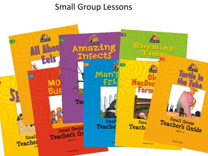 Small Group Lessons