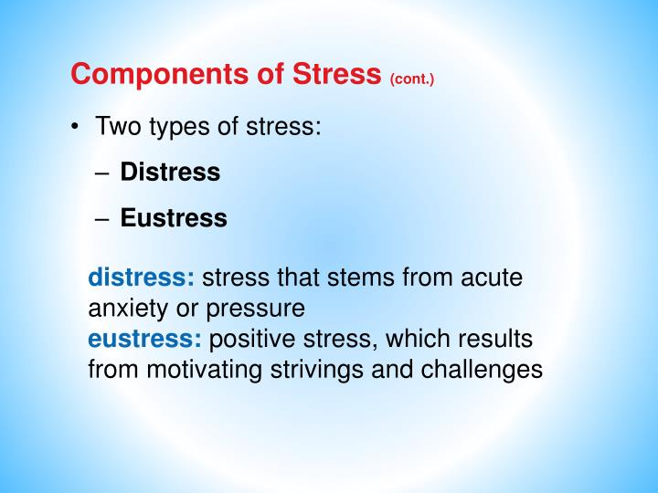 Components of Stress