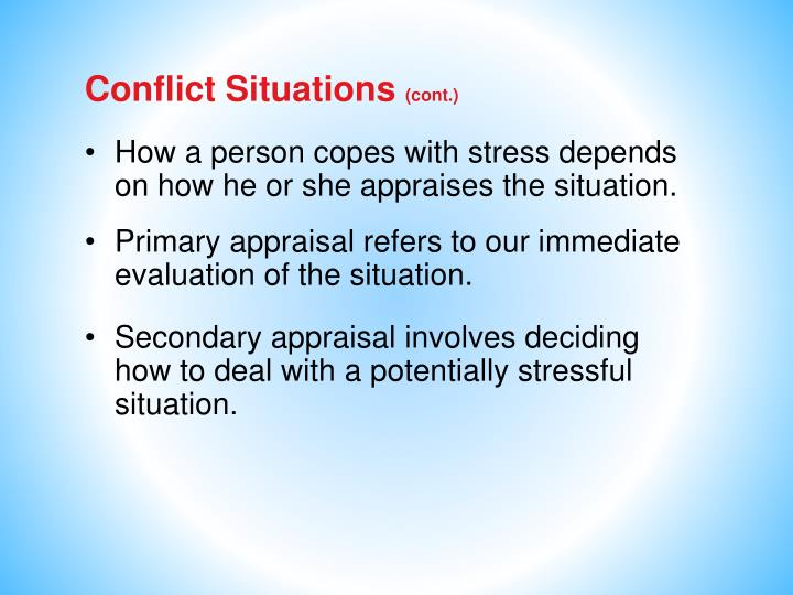 Conflict Situations