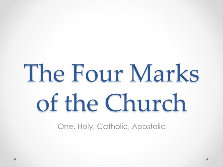 Image result for free pictures of the four marks of theChurch