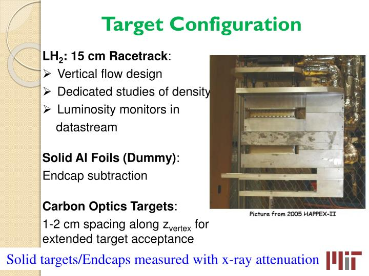 Target Configuration