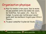 organisation physique2