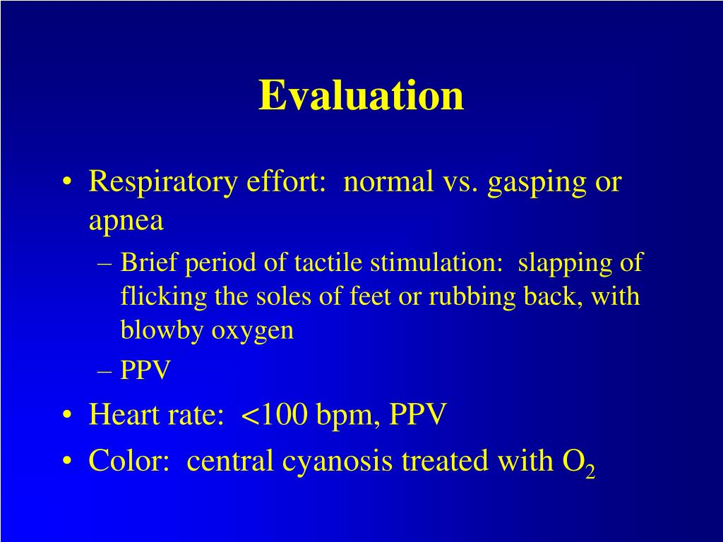 PPT - Neonatal Resuscitation and Stabilization PowerPoint